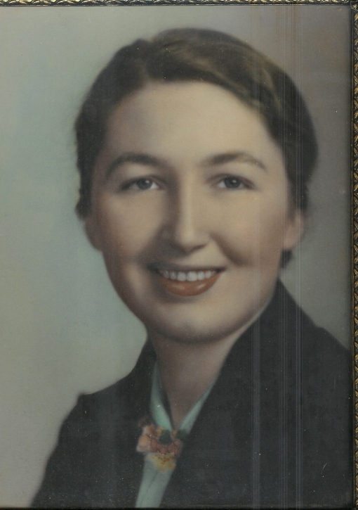 Gran as a young woman.